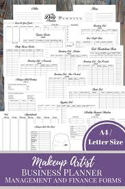Small Business Floor Plans Makeup Artist Business Planner And Manager Business Finance And