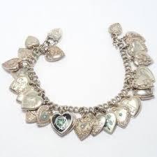 silver chain bracelet ebay images Antique bracelet ebay JPG