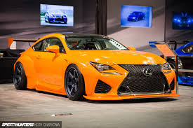 lexus rcf white a widebody lexus rc f built for the track speedhunters