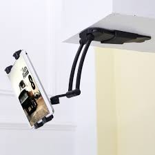 universal foldable aluminum alloy wall mount mobile stand tablet