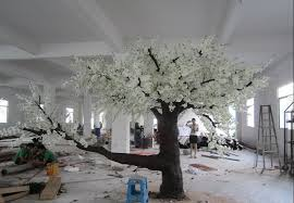 12 5 white tree for decoration artificial trees cherry
