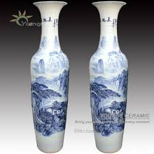 chinese luxury big floor vases blue and white porcelain buy