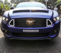ford mustang modified check out rohit shetty u0027s customized ford mustang gt motoroids