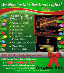 christmas lights installation houston tx christmas lights installation final cut roofing and