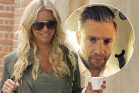Denise Van Outen finds love again a year after splitting from     Mirror The star is dating stockbroker Eddie Boxshall who she met through friends after splitting from husband Lee Mead last summer
