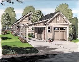 bungalow garage plans 2car garageplan 30505 the carport easily transforms into a