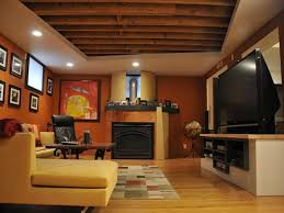 Simple Basement Designs by Basement Ideas Unfinished Basement Ceiling Ideas Trend With