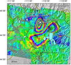 Fault Lines United States Map by Yellowstone U0027s Supervolcano Is Literally Changing Shape But Why