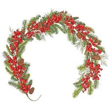 garlands and wreaths rtificil christms grlnd white