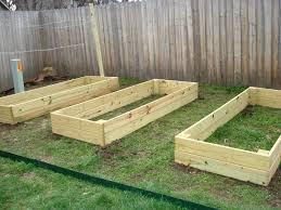 raised vegetable garden troughs gardening ideas