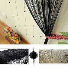 Decor Beaded Window Curtains Beaded by 1 X 2m Taos Crystal Glass Beaded Tassel String Curtains Door