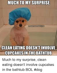 Much Dog Meme - much tomy surprise amartiniaday fb clean eating doesn t involve