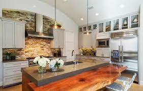 Concrete Kitchen Countertops 22 Contemporary Concrete And Stone Kitchen Countertop Ideas