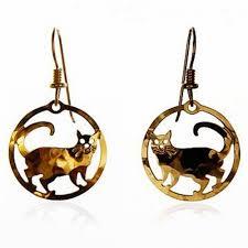 cat earrings bryde cat earrings cat jewelry cat bracelets