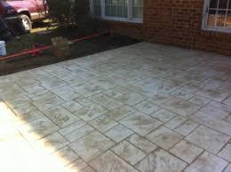 Cement Patio Sealer Stamped Concrete How We Do It Decorative Concrete Of Virginia