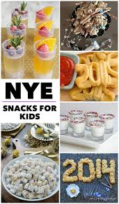 new years eve snacks for kids