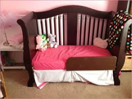 Toddler Bed Rail For Convertible Crib Contvertible Cribs Walnut Wood Conversion Kit Included