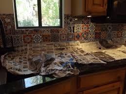 backsplash mexican tile kitchen backsplash special mexican tile