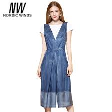 Jeans Jumpsuit For Womens Compare Prices On Denim Jumpsuit For Women Online Shopping Buy