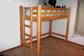 Build A Loft Bed With Storage by Diy Loft Bed Plans Free Free Bunkbed Plans Free Bunk Bed Plans
