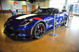 corvette z06 colors four 2017 corvette colors showcased at michelin ncm bash