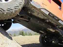 jeep tj transfer skid plate high clearance 97 06 wrangler tj