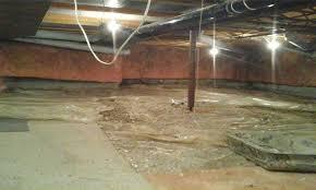 ohio basement authority crawl space repair photo album before