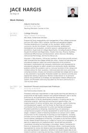 Resume Templates For Assistant Professor Adjunct Instructor Resume Samples Visualcv Resume Samples Database