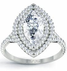 marquise halo engagement ring marquise baby split halo engagement ring