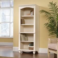 Sauder Harbor View Bookcase by Enclosed Bookshelves American Hwy