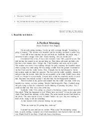 worksheet of narrative