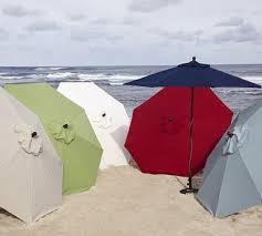 Pottery Barn Patio Umbrella by 51 Best Beach Umbrellas Images On Pinterest Beach Umbrella