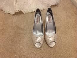 used wedding shoes wedding shoes oncewed