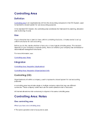 Job Description Of A Line Cook For Resume by Controlling Area