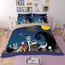 Jack Skellington Comforter Set Tv U0026 Celebrity Theme Duvet Covers And Bedding Set Ebay