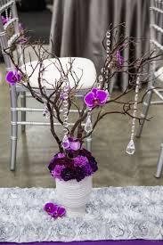 Manzanita Branches Centerpieces Spring 2014 Bridal Gala Calyx Floral Design