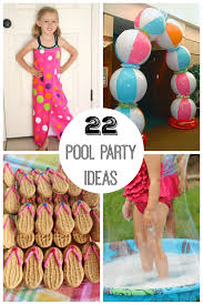 pool party ideas 22 summer pool party ideas when it s hot outside make and takes