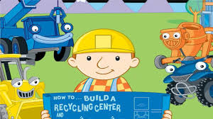 bob builder game video building recycling center wind