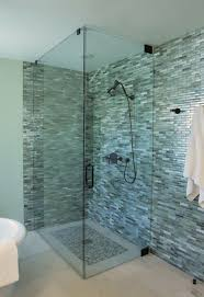 bathroom glass tile designs best 25 glass shower walls ideas on half glass shower