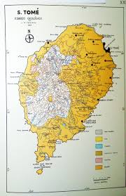 map of sao tome the sao tome map project