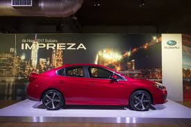 2017 subaru impreza sedan sport subaru u0027s 2017 impreza is sharper more dynamic to drive and safer