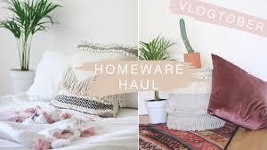 vlogtober day three 2017 mr price home decor u0026 plant haul