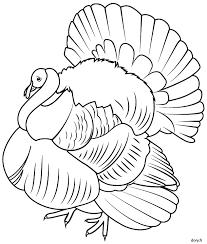 dessin à colorier un dindon volaille pinterest dindon