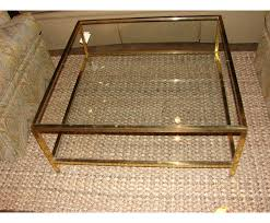 Brass Glass Coffee Table Brass Coffee Table In Antique Accent With Glass Countertop