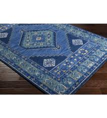 jenica rug navy and teal
