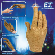 E T Glove With Light Up Finger