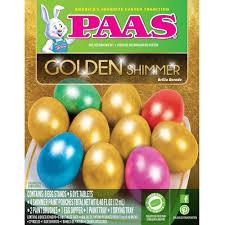 easter egg dye kits paas gold shimmer easter egg dye kit