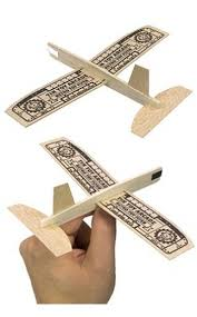 retro flyer balsa wood plane tintoyarcade exclusive looping