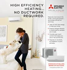 high efficiency home plans ductless heat pump