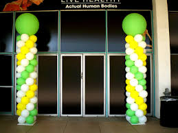 balloon columns balloon column ideas balloons party decorations
